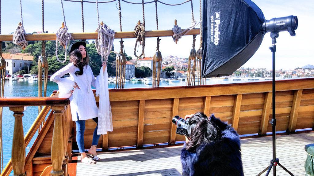 Modno fotografsko snimanje u Dubrovniku